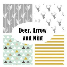 Custom Crib Bedding-3 piece-Deer by fingersandtoes on Etsy