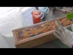 Making & Cutting Stud Luxury Cold Process Soap - YouTube