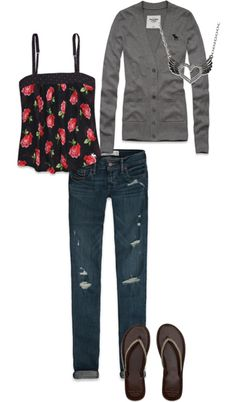"""""""Spring Outfit"""" by gabbiebbeck on Polyvore"""