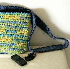 crochet rag purse - Google Search