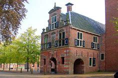 Appingedam - Raadhuis vooraanzicht