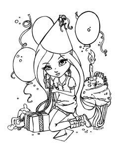 Happy birthday by JadeDragonne