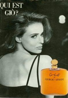 Gio by Giorgio Armani Lara Harris Giorgio Armani, Emporio Armani, Chanel Perfume, Anuncio Perfume, Perfume Adverts, Armani Collection, Celebrity Perfume, Beauty Ad, Fragrance