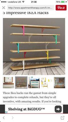 Estante Ikea hack