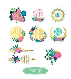 Ocean SVG Beach Monogram Svg Summer SVG Monogram Frame Ocean