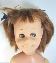 Vintage Mattel 1961 Charmin Chatty Doll Brown Hair Part Repairs Restore #CHARMINCHATTYCATHY