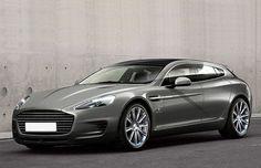 Perua Bertone derivada do Aston Martin Rapide