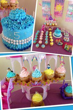 Cinderella cake #princessparty