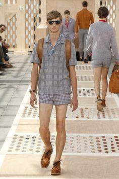 Look 06 from the Louis Vuitton Men's Spring/Summer 2014 Fashion Show. ©Louis Vuitton / Ludwig Bonnet