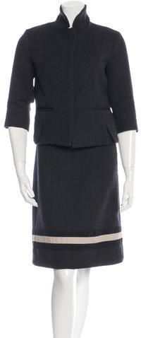 Marni Wool Skirt Suit Wool Skirts, Skirt Suit, Marni, Suits For Women, Peplum Dress, Dresses For Work, Just For You, Stylish, Tops