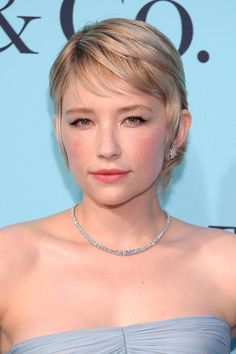 [i]Girl On The Train[/i] star Hayley Bennett used to have super long locks, but now rocks a feminine pixie cut - and we think she suits it so well.