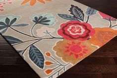 Surya Harlequin Country & Floral Area Rug Collection
