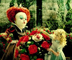 Alice no País das Maravilhas.