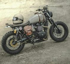 33 Cool Modification Triumph Scrambler for Big Motorcycle Lovers Triumph Scrambler, Xt 600 Scrambler, Cafe Racer Motorcycle, Moto Bike, Motorcycle Design, Motorcycle Style, Mad Max Motorcycle, Triumph Bonneville Custom, Street Scrambler