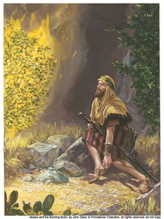 Take off your shoes Moses, you are on HOLY GROUND....I AM who I AM....HE said from the Burning Bush by John Steel