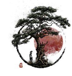 - Japan - - Japan - Effective pictures that we offer via fitness videos men . - – Japan – – Japan – Effective pictures we offer through fitness videos men A quality pictur - Japanese Artwork, Japanese Tattoo Art, Stylo Art, Bonsai Tree Tattoos, Berlin Tattoo, Yin Yang Art, Samurai Artwork, Avatar The Last Airbender Art, Fitness Video