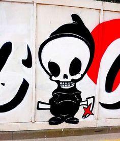 Graffiti found in Brighton