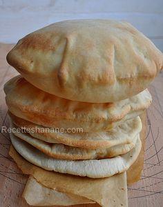 Pain pita, ou pain Libanais - Recettes by Hanane