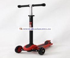 Самокат Y-Bike Glider XL maxi - Red