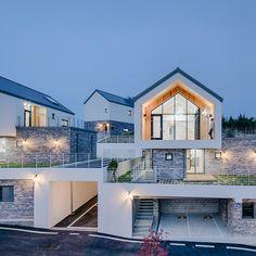 15번째 이미지 Modern Architecture House, Amazing Architecture, Interior Architecture, Small Modern Home, Home Fashion, Exterior Design, Building A House, House Plans, House Design