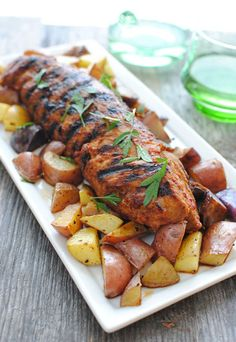 Grilled Chipotle Pork Tenderloin - pork tenderloin on the grill is one of our favorite dishes.