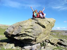 Clambering on the Norber Erratics in the Yorkshire Dales 2012 Sep-Oct :: picture by padihamknitter - Photobucket Yorkshire Dales, The Great Outdoors, Nature, Pictures, Photos, Outdoor Living, Nature Illustration, Off Grid, Off Grid