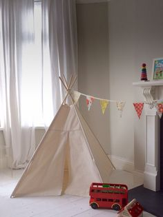 This listing is for a small size teepee made with 100% cotton canvas. Each Little Me Teepee creates the perfect setting for a bright future of