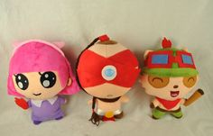 Can be made into bags :D Felt Dolls, Plush Dolls, Doll Toys, Felt Crafts, Diy And Crafts, Arts And Crafts, League Of Legends, Lol, Felt Fabric