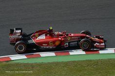 Kimi Raikkonen, Japan, Suzuka, Friday practice, 2014
