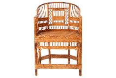 Chinese Chippendale Tortoise Chair