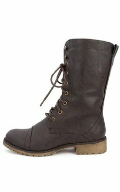 Military Lace up Combat Boot