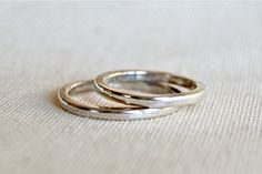"""parallel"" wedding bands from the ""amoris"" wedding collection."