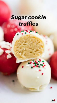 Candy Recipes, Holiday Recipes, Cookie Recipes, Dessert Recipes, Christmas Recipes, Cookie Balls Recipe, Dishes Recipes, Cupcake Recipes, Recipies