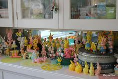 Vintage Easter bunnies collection
