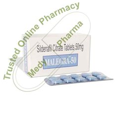Buy Malegra 50 mg Malegra 50mg contains an active ingredient Sildenafil which is FDA-approved medication used to treat erectile dysfunction problems in men. After being introduced in 1998, Malegra 50mg became the most popular treatment for erectile dysfunction issues. Malegra 50mg is a fast-acting medication that can last up to four hours.   #achatmalegra #achetermalegra #achetermalegrafxt #alagramorris #allegradirections #buymalegra100mg #buymalegra50 #buymalegradxt #buymal