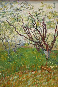 Vincent van Gogh - The Flowering Orchard, 1888