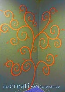 love this swirly design