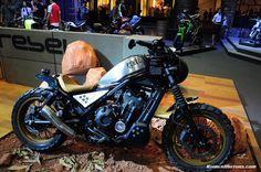 Honda MSX & Honda Rebel dressed in Motorbike Idea Challenge 2017 - Khmermotors Blog