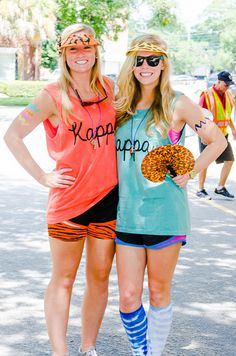 "Sorority Apparel | Kappa Kappa Gamma | ""Wild about our New Members"" Bid Day theme. Heard South Carolina Chapter took them to the Zoo!"