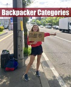 Backpacker Categories  -- www.drinkingondimes.com