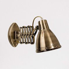 Electrical Fittings, Thing 1, Steel Material, Polished Chrome, Decorative Bells, Antique Brass, Wall Mount, Light Bulb, Wall Lights