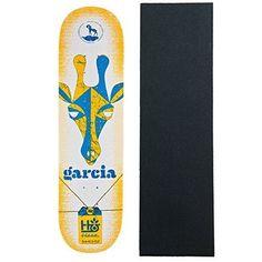 HABITAT Skateboard Deck GARCIA HORNED BEAST 8.25″ with GRIPTAPE: Habitat 7-Ply Canadian Maple Professional Skateboard Deck. Additionally…