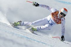 Bode Miller, the United States skier, one of the favourites to win the downhill event