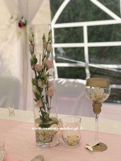 Dekoracje weselne, kwiaty na ślub, wazony na kwiaty, dekoracja stołu, obrusy i pokrowce. Table Decorations, Furniture, Home Decor, Decoration Home, Room Decor, Home Furniture, Interior Design, Home Interiors, Interior Decorating