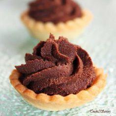 Tartelette à la Mousse au Chocolat