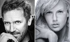 The most life-like drawings you will ever see: Incredibly detailed pictures of Hollywood stars drawn by HAND