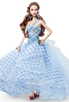 Dorothy definitely isn't in Kansas any more! Her cute look goes glam on this fab movie fashion doll. The Wizard of Oz™ Fantasy Glamour Dorothy Doll.