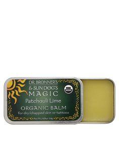Bio-zertifizierter Körperbalsam von Dr Bronner aus reinen Bioölen und natürlichem Bienenwachs enthält Jojoba-, Avocado- und Hanföl zum Beruhigen der Haut für rissige, trockene Haut oder zum Heilen tätowierter Haut 14 g