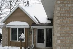 What Causes Roof Ice, Gutter Ice, and Ice Dams. FAQ's for Roof and Gutter Ice Melt Systems. Southern Wisconsin's Source for Roof and Gutter Ice Melt Systems. Ice Dams, Entry Doors, New England, Wisconsin, Ice Melt, This Or That Questions, Angles, Outdoor Decor, Guy