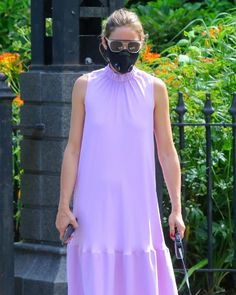 Olivia Palermo Style, Lilac Dress, Summer Chic, Fashion Face Mask, Dress Me Up, Her Style, Celebrity Style, Street Style, Celebrities